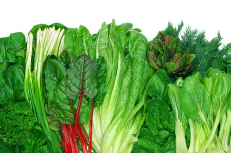 leafy greens for guinea pigs