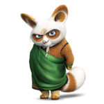 Master Shifu from Kung Fu Panda Movie