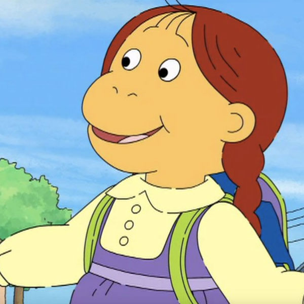 Muffy from Arthur is a monkey