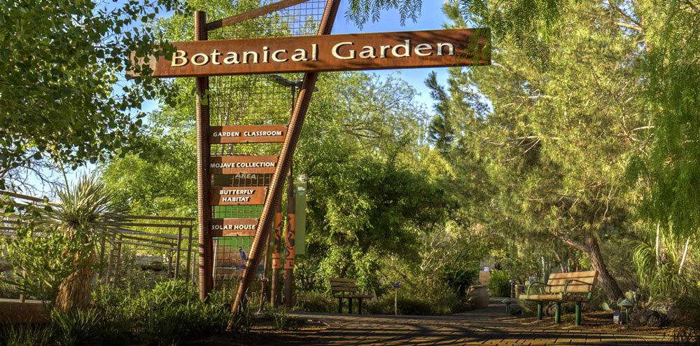 Botanical Gardens at the natural spring preserve in Vegas
