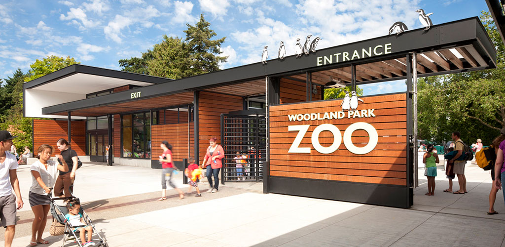 Entrance to the Woodland Park Zoo in Washington